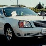 Cadillac DE Ville Білий