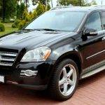 Mercedes-Benz GL Чорний