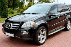 Mercedes-Benz GL чорний