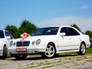 Mercedes-Benz W210 Білий (3)