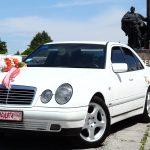 Mercedes-Benz E-Class W210 Білий