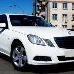 Mercedes-Benz E-Class 212 Білий і Чорний